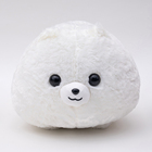 warm and soft stuffed animal plush cushion pillow for kids in 3 colors