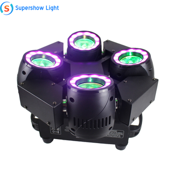 2019 New Design 4 Heads Sweeper Beam LED Moving Head Light Stage Effect Robot