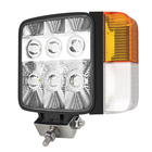 12V 24 Volt LED Tractor Truck Work Light for sale - Combined Lamp - 30W C.ree - Turn Signal Clearance Lamp Flood Spot All In One