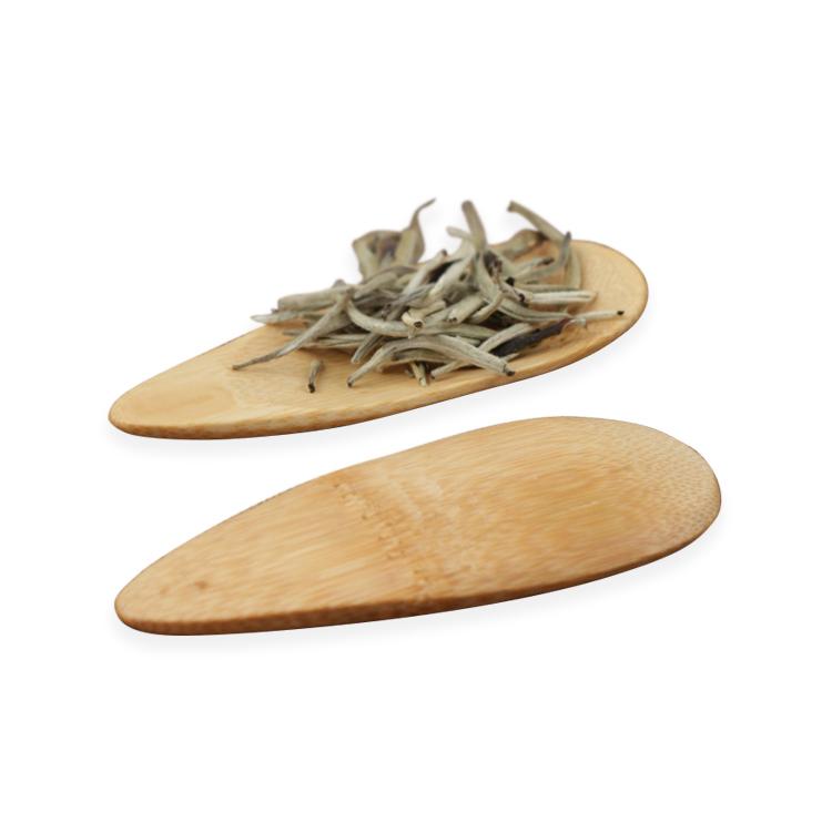 Hot Selling Eco-Friendly Natural Engrave LOGO Mini Bamboo Tea Spoon