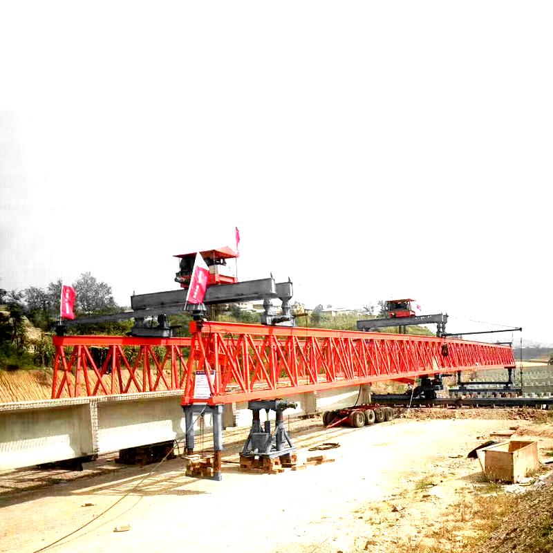 Best price launcher girder gantry crane 80t machine