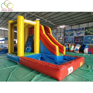 Custom Combo Inflatable Water Jumper Slide Inflatable Small Pool Water Slide for Kids