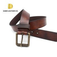 brand names Cowboy Style making Used Leather Belt Wenzhou Factory Vintage split leather for belts