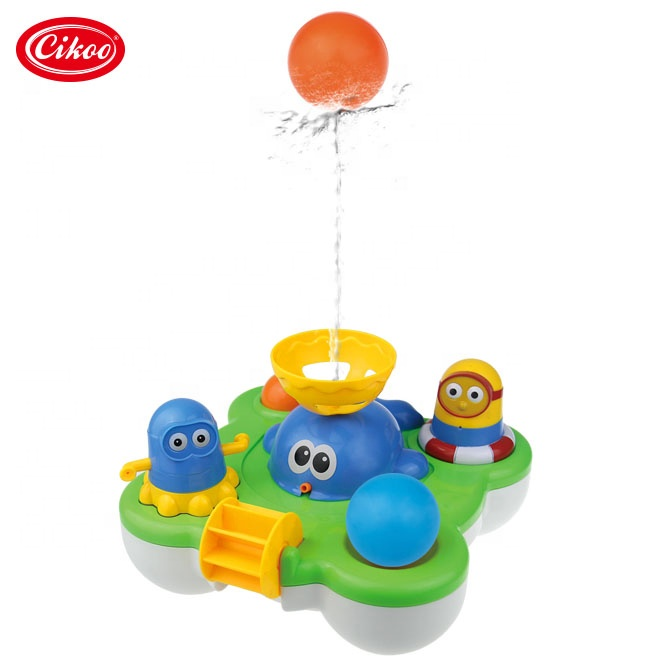 Cikoo New Spray Water Kid Interesting Baby Bath Funny Toy