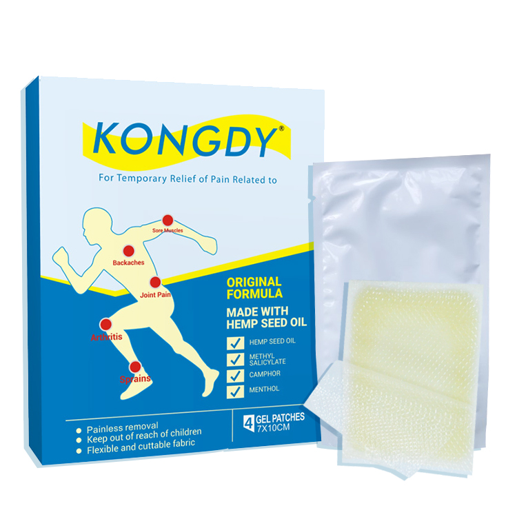 Kongdy transdermale bioenergiser hennep pijn patch cbd patch reviews patch