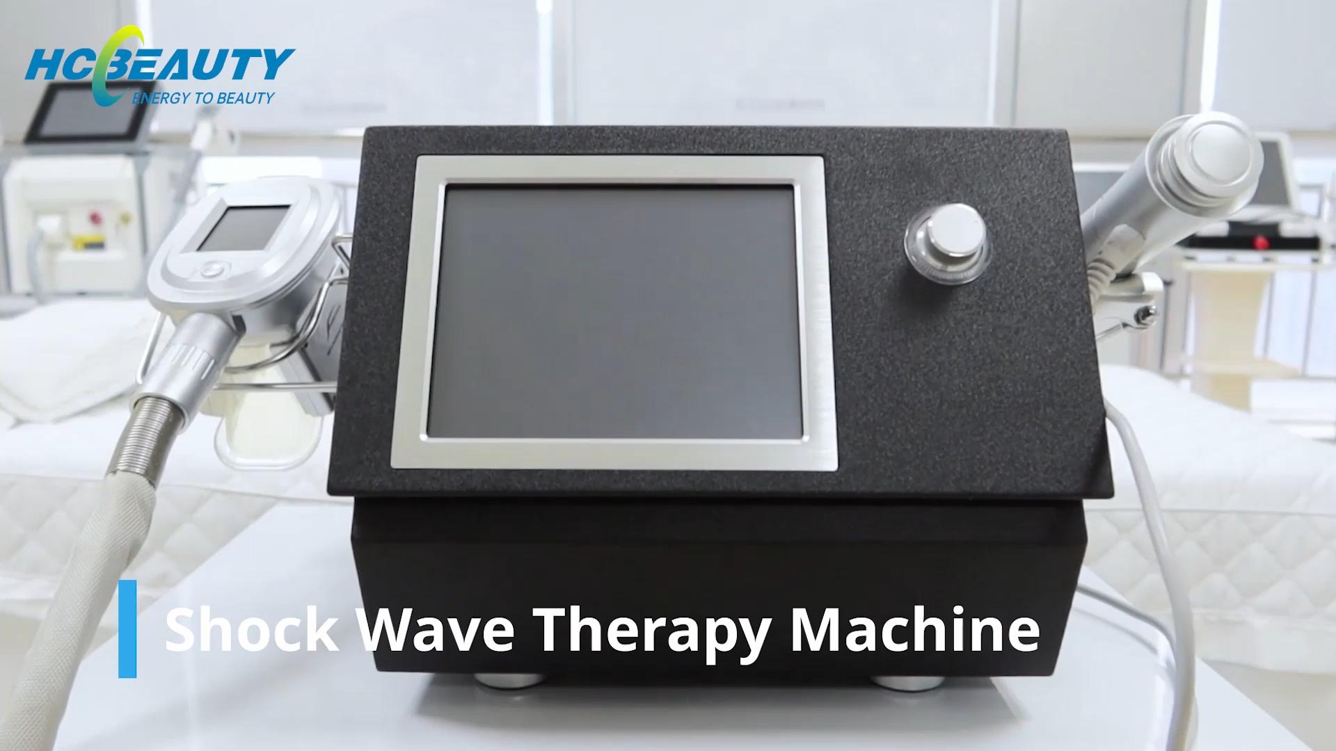 Équipement de thérapie par ondes de choc extracorporelles/machine à ondes de choc équine