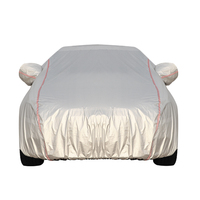 China Supplier Wholesale 100% Waterproof Car Sun Protector Cover Solar Car Cover
