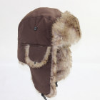 N168 Russian style aviator trooper hat ski windproof earflap faux fur winter hats for men women