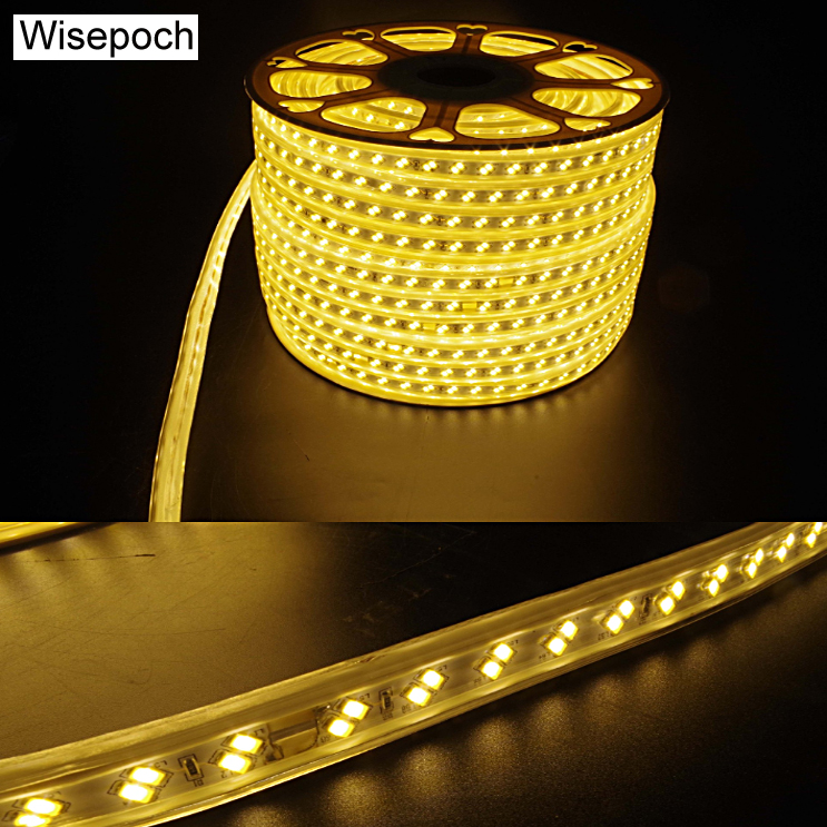 Brighter than T5 LED Tube, 220V 5730 Flexible LED Strip with 35 lumen/led, 50 meter/roll for outdoor indoor