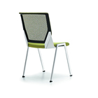 Mesh back 4 metal legs meeting room chairs for office or home