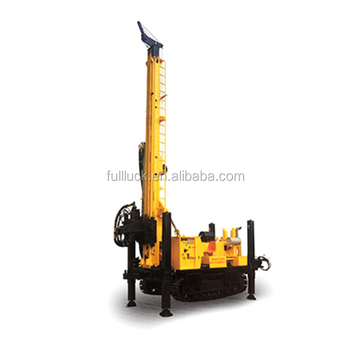 1000m water well Drilling Rig with 5m length drilling rod supply by fullwon