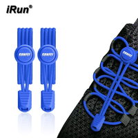 iRun 3M Elastic Lace Athletic Running Shoe Laces Energy No Tie Shoelaces Lock Laces for Sneaker Boots Board Casual Shoes
