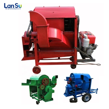 small grain bean pod removing threshing machine