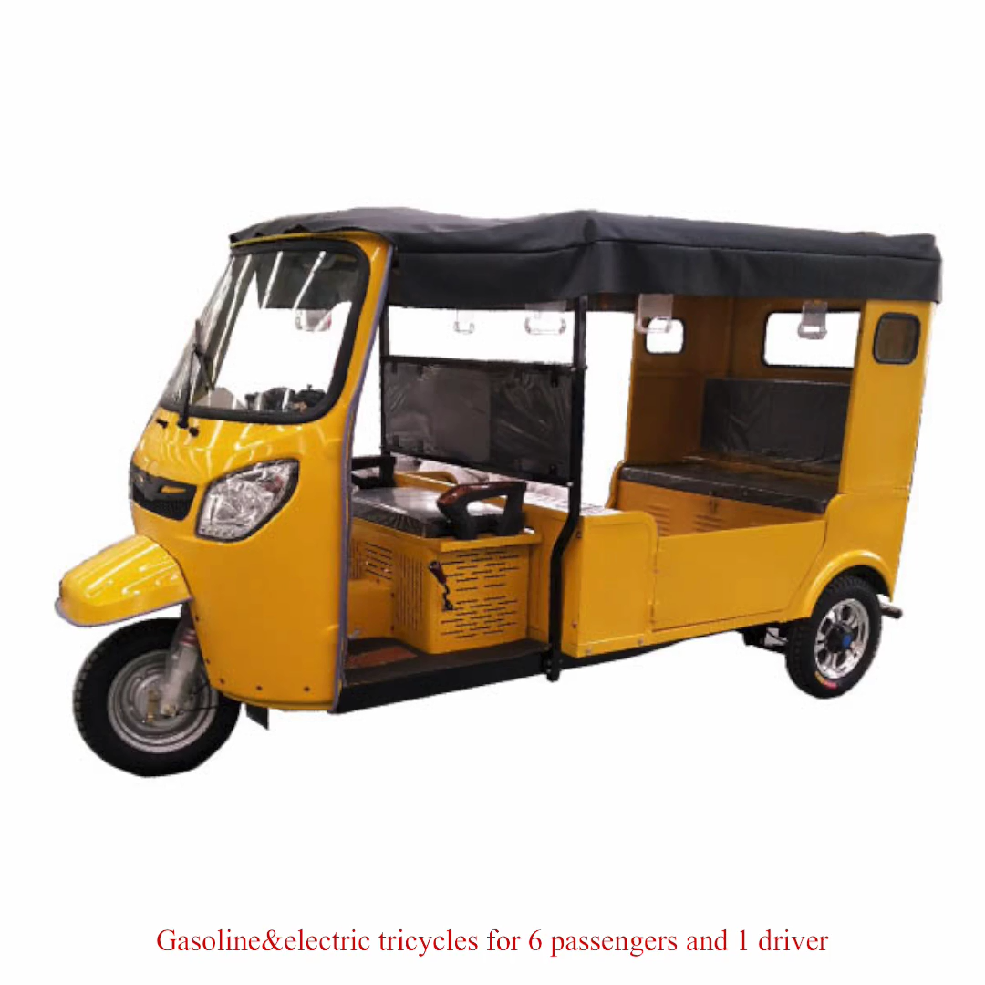 Mesin Bensin Roda Tiga Tuk untuk Taksi Penumpang Becak