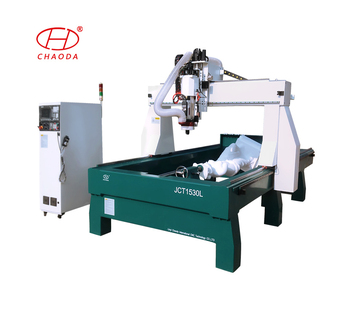 3d Styrofoam cutter, spindle wood cnc router machines for sculptures and flat panels with cnc hot wire foam cutter