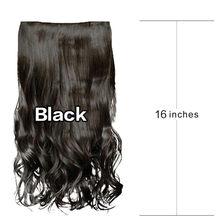 1 шт., 5 клипсов, модные волосы, растягивающиеся, красивые, женские, для девушек, кудрявые волосы, парики для косплея, кружевные передние парик...(Китай)