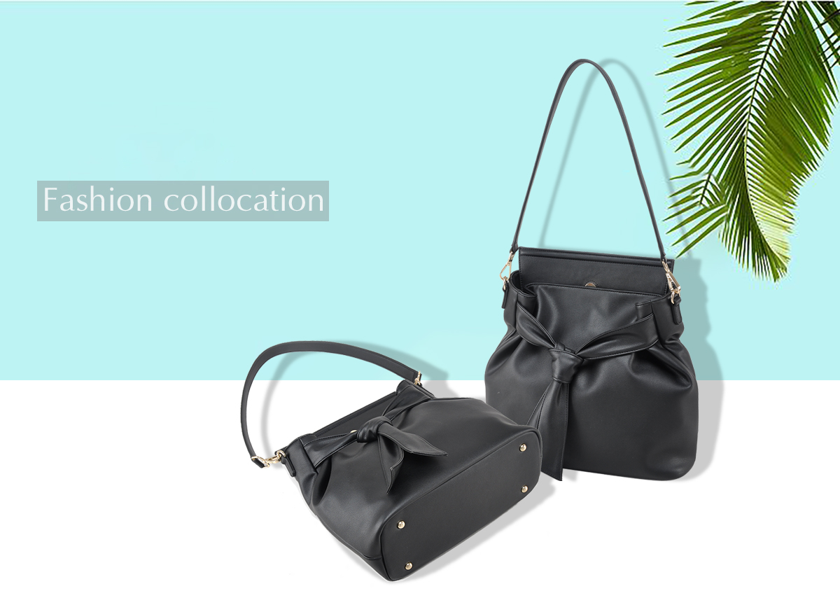 promotional top layer leather tote bag medium shoulder bag