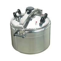 Gland-proof aluminum pots pressure cooker gas stove large capacity hotel restaurant 44cm 50L