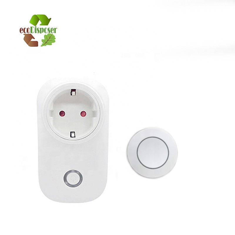 Garbage Disposal Wireless Switch Kit-Posted On The wall/Sink Top for Waste Disposer