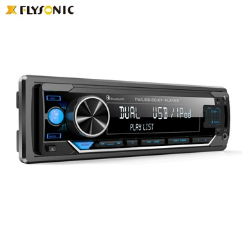 Flysonic 2020 New model One-din Built-in Bluetooth car mp3 player