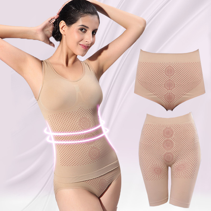 Thailand Infrared Gel Magnetic Treatment Body Shaping Clothes Corset Lingerie for Women
