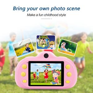 New Model 2.4 IPS Display Dual Lens 8MP Video Camera Children kids Digital Camera Children Mini Digital Camera