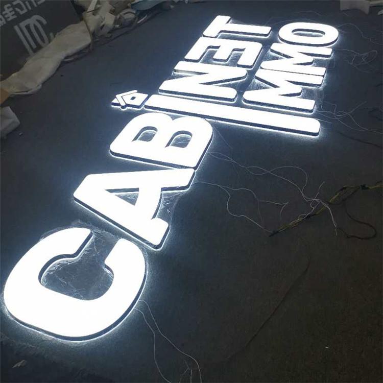 3D Lighting Acrylic Mini Led Custom Acrylic Led Letter Sign Bending Machine Making Acrylic
