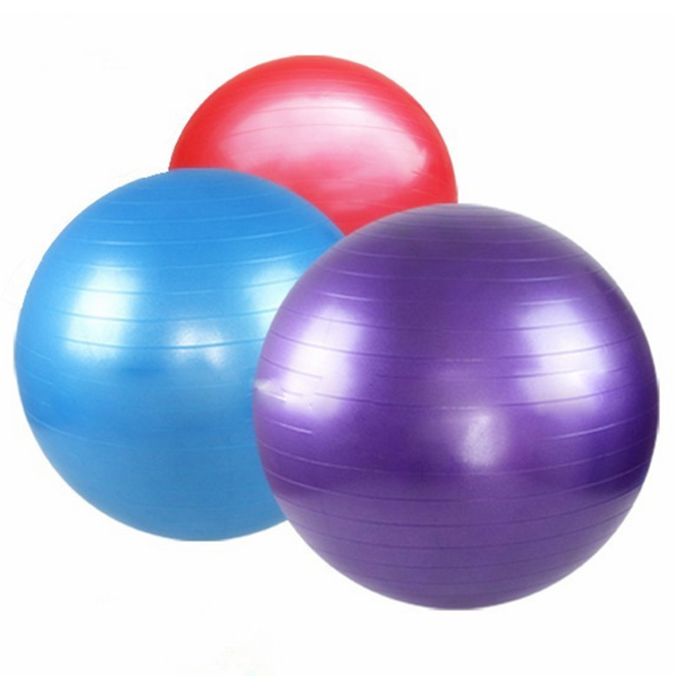 High quality custom colorful pvc exercise <strong>yoga</strong> <strong>ball</strong>