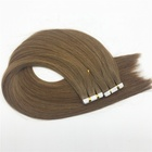 Dropshipping brown russian tape human hair extension