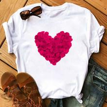 Maycaur Vogue женские футболки Летние повседневные футболки больших размеров футболки с графическим принтом Kawaii Женская Футболка Harajuku одежда с к...(China)