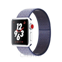 Нейлоновый ремешок для Apple watch 5 Band 44 мм 40 мм iWatch Band 42 мм 38 мм Спортивный Браслет Apple watch series 5 4 3 2 38 40 42 44 мм(Китай)