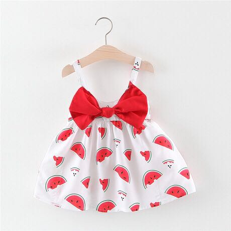 2019 New summer baby girls dress lace Fabric kids clothing for 3-8 year old 102867