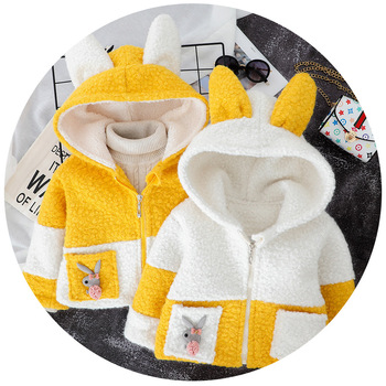 Children's wear girls winter woolen coat girls autumn and winter clothing children Korean style and woolen cloth clothes