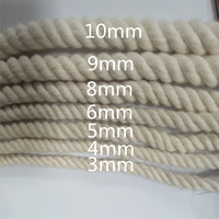 2020 Amazon hot sale macrame cord 5mm 100% cotton twisted cord China quality supplier