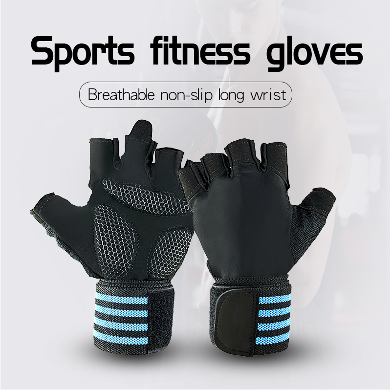 KS-6007-2#Weightlifting Gym gloves Sports Gym Exercise Gloves