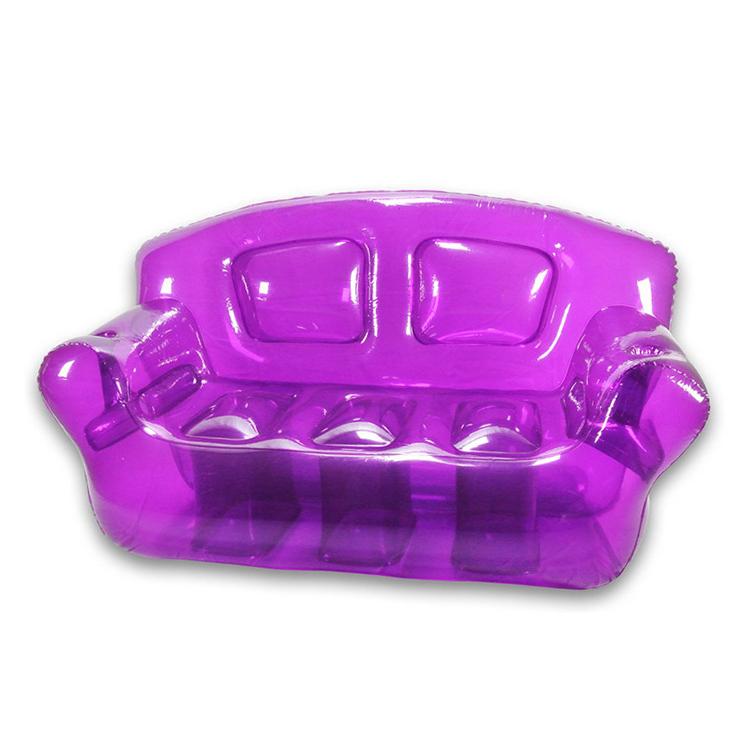 Thicken Pvc Transparent Internet stars inflatable sofa