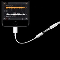 Get Free Sample 3.5mm bluetooth aux cable for iphone 7 earphone headphone audio jack cable with mic usb connector