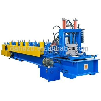 Dahe CE proved CZ profile steel sheet making machine CZ shape roll formed machinery manufacturer Dahezb