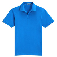 Wholesale 100% polyester very very cheap price short sleeve mens Polo Shirt plain in china factory