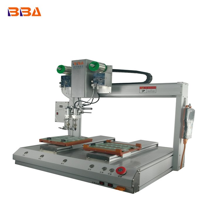 BBA High Precision Automatic Soldering equipment  for led strip light and USB cable