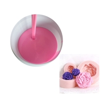 factory price liquid RTV 2 tin cure fast curing silicone rubber for candle soap mold with beautiful patterns