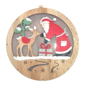 Art minds wood design products wooden christmas shapes