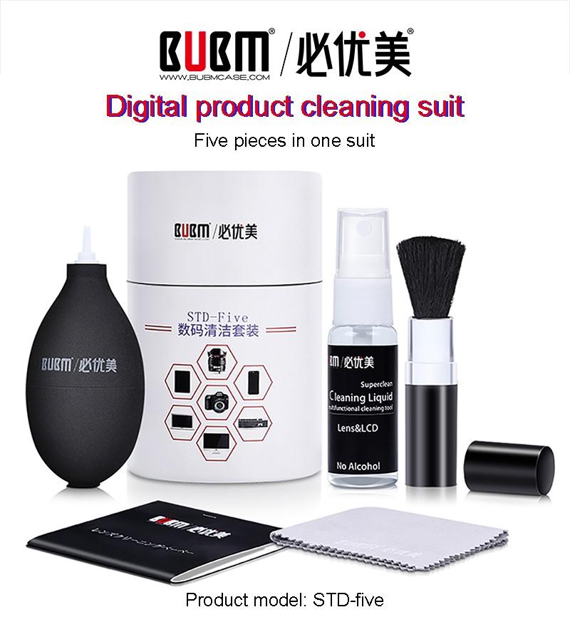 BUBM 2020 휴대 전화 안경 노트북 화면 카메라 렌즈 dslr 클리닝 키트