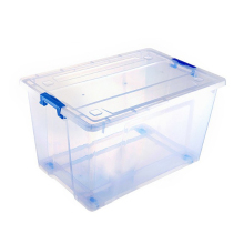 휴대용 clear plastic storage container 와 lid