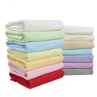 Combed Cotton Jersey Fabric Color Knit Fabrics for Baby Clothes and Pants