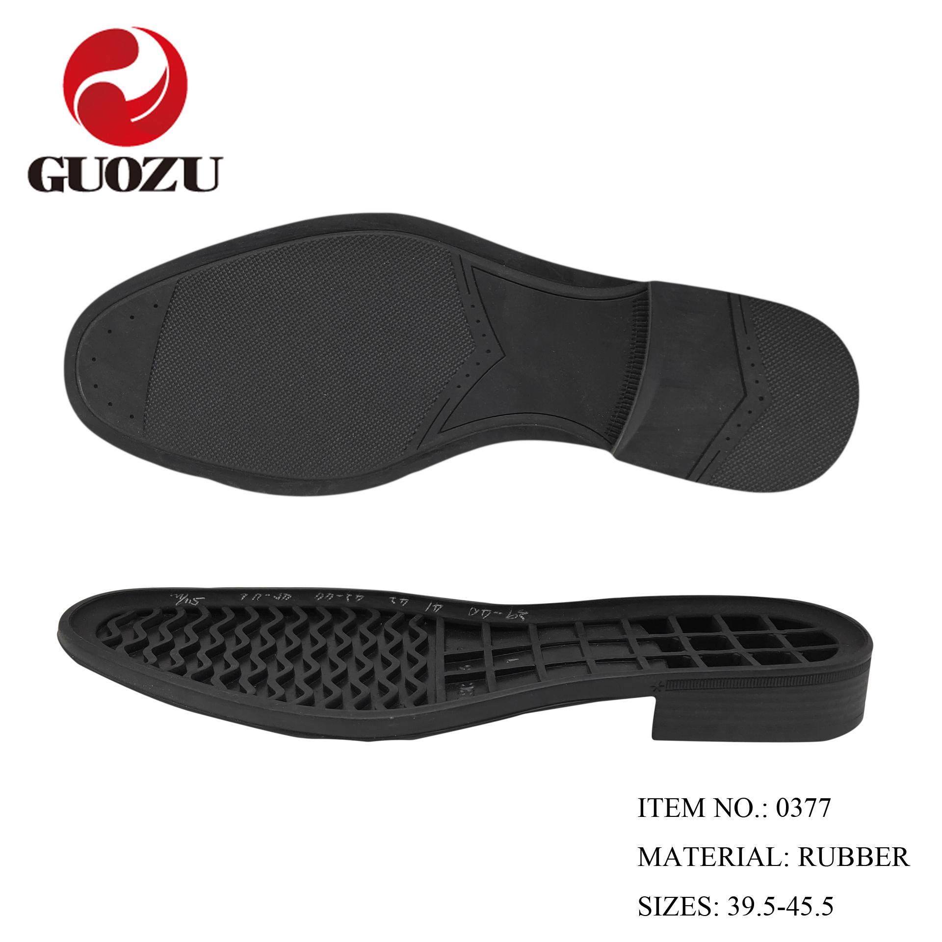 men Oxford shoe sole rubber outsole