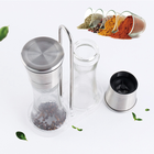 FDA Spice Mill Commercial Colourful Sell Pepper Sea Salt Mill Samll Spice Grinder for Home Kitchen