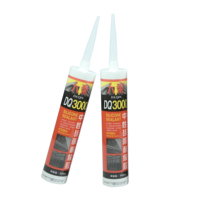 Acid silicone glass glue sealant dry quickly waterproof transparent glass glue