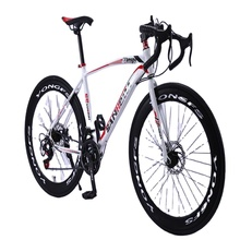 Adulto da corsa mountain bike freni a doppio disco una ruota cross-country gear