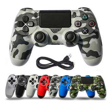 Bluetooth Wireless/Wired Joystick for PS4 Controller Fit For mando PS4 Console For Playstation Dualshock 4 For PS4 Gamepad